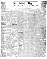 British Whig, 22 December 1847