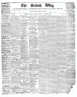 British Whig (Kingston, ON), January 1, 1848