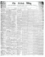British Whig, 19 January 1848