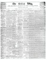 British Whig, 8 March 1848