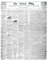 British Whig, 15 April 1848