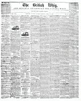 British Whig, 29 April 1848