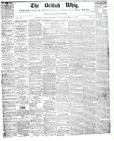 British Whig, 13 September 1848