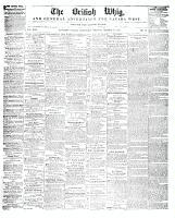 British Whig, 25 October 1848