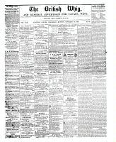 British Whig, 22 November 1848