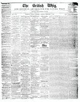 British Whig, 2 December 1848