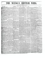British Whig (Kingston, ON1834), July 13, 1849