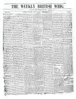 British Whig (Kingston, ON), October 6, 1849