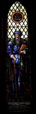 John Knox stained glass window: Knox Presbyterian Church, Oakville.
