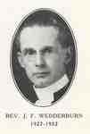 Reverend Dr. John Forbes Wedderburn:  Minister of Knox Presbyterian Church, Oakville, 1927-1932.