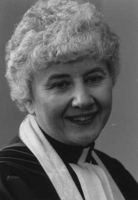 Reverend Helen L. Goggin, Knox Presbyterian Church, Oakville: 1965-1984.
