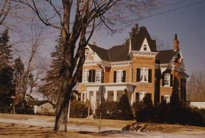 Home of Cecil G. Marlatt, 43 Dunn Street, 1888.
