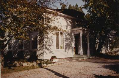 Home of George K. Chisholm, 85 Navy Street, 1848.