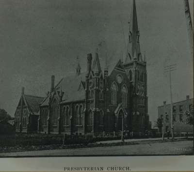 Knox Presbyterian Church, Oakville: circa 1888