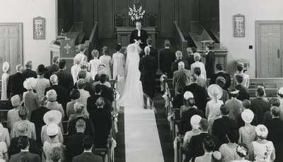Susan Reid and Gary McBay Wedding.
