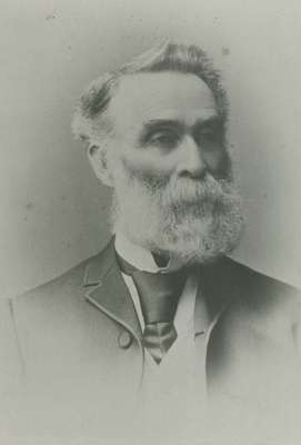 John Barclay, first known Clerk of Session and elder, 1844-1900: Knox Presbyterian Church, Oakville.