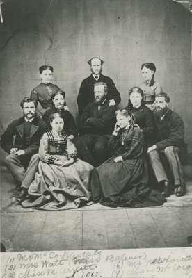 Choir: Canada Presbyterian Church, c. 1870.