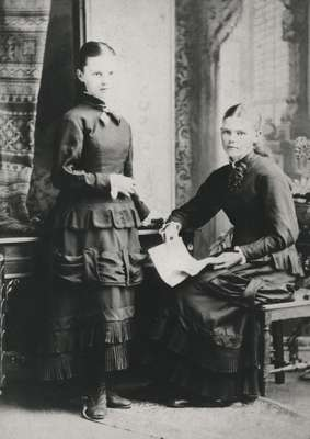 James Nisbet's children- Isabella Catherine and Mary Jane Nisbet.