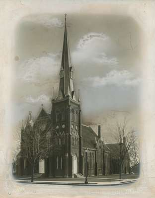 Knox Presbyterian Church, Oakville: exterior.
