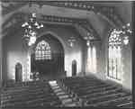 Knox Presbyterian Church, Oakville: interior, 1920.