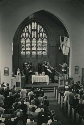 Communion, Knox Presbyterian Church, Oakville.