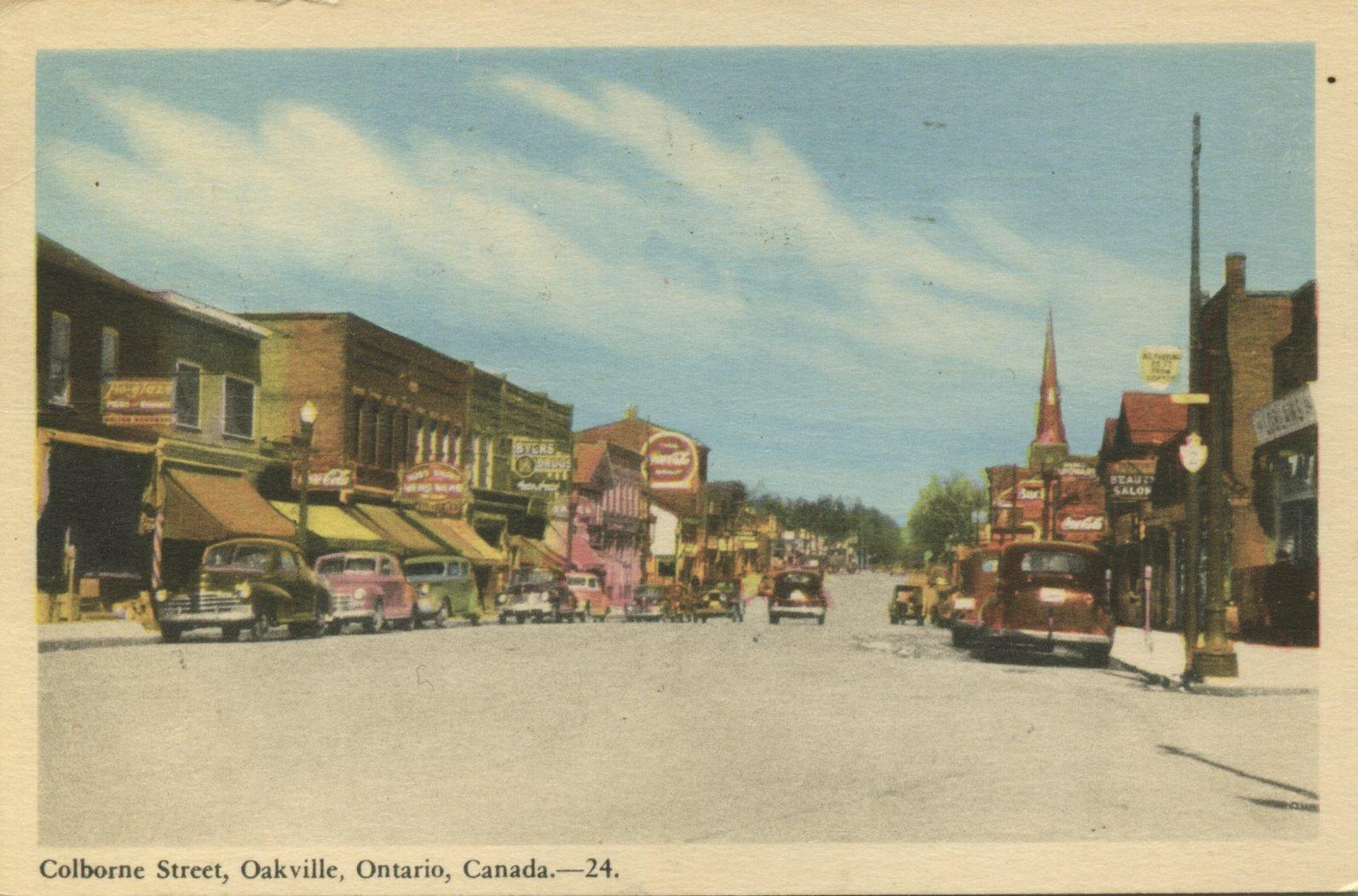 Colborne Street, Oakville, Ontario, Canada