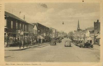 Main Street, Oakville, Ontario, Canada.