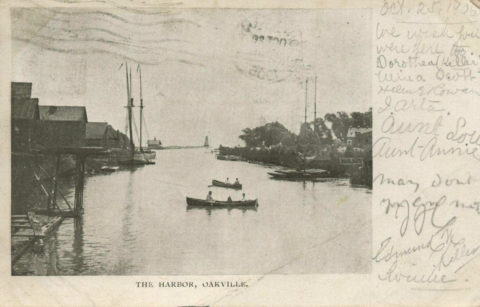 The harbor, Oakville.