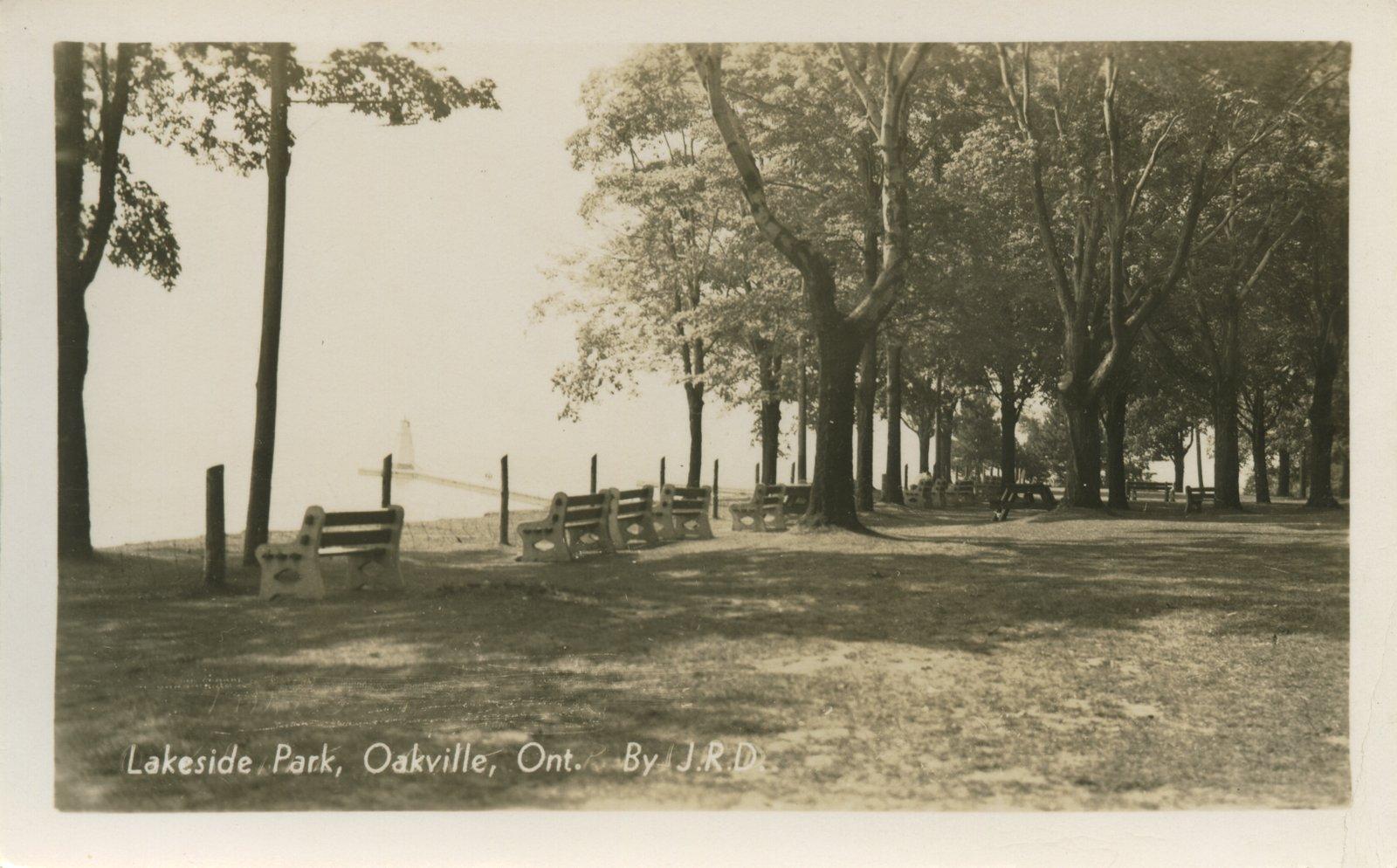 Lakeside park, Oakville, Ont. by J.R.D.
