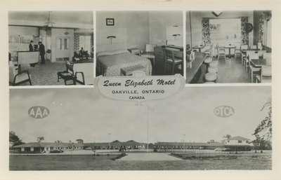 Queen Elizabeth Motel, Oakville, Ontario, Canada.