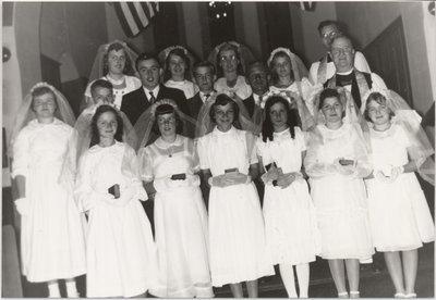 Confirmation Class St. John's Church