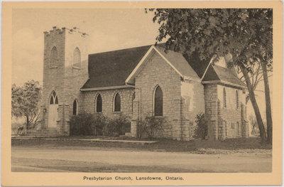 Presbyterian Church, Lansdowne Ontario