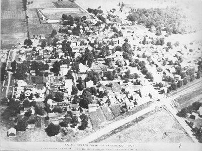 Aeroplane View of Lansdowne