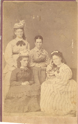 Four Women in Various Poses