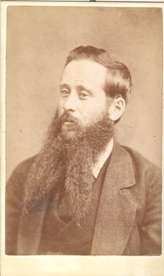 Gentleman With Two-Part Beard