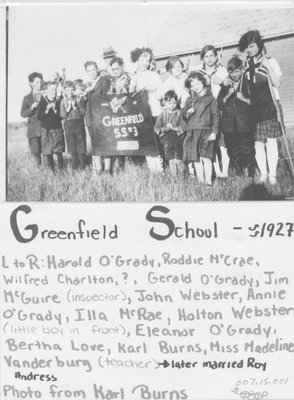 Greenfield School S.S. #3