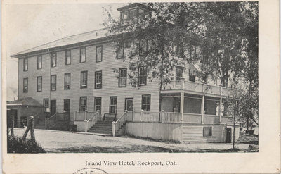 Island View Hotel, Rockport, ON