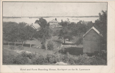 Hotel and Farm Boarding House, Rockport, ON