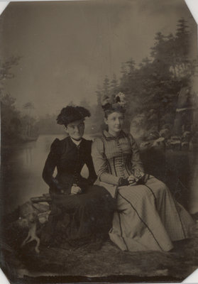 Mary (Carnegie) Fitzsimmons and Her Sister