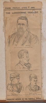 John Fitzsimmons Tragedy Drawings