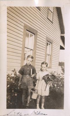 Senecal Children on Grenadier Island