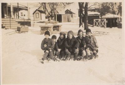 Group of Children at Hickory Lodge