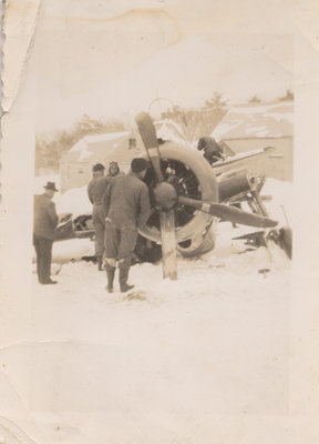 USAF Place Crash, Rockport, ON