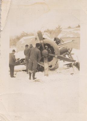 USAF Place Crash, Rockport, ON