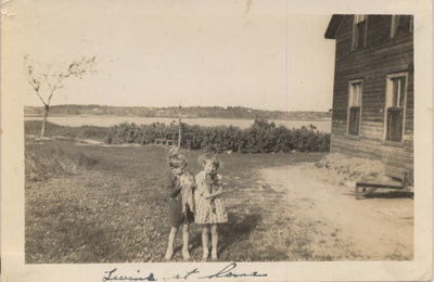Children on Grenadier Island