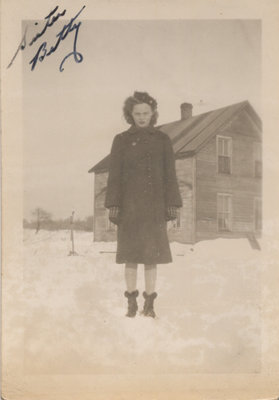 Betty Senecal on Grenadier Island