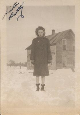 Betty Senecal on Grenadier Island