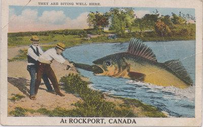 Fishing Postcard, Rockport, ON