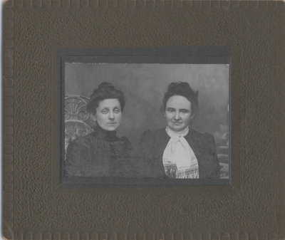 Mettie Carnegie and Mary Fitzsimmons