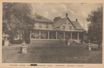 Hickory Lodge, Rockport, ON